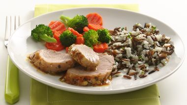 Honey Mustard Pork Tenderloin