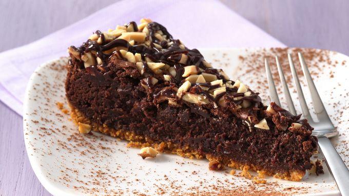 Brownie Ganache Torte