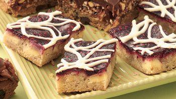 White Chocolate-Raspberry Bars