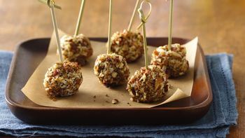Goat Cheese and Bacon Pops