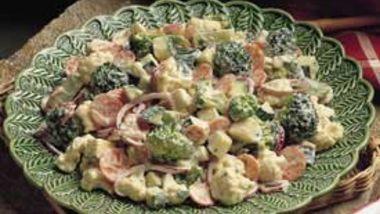 Parmesan-Basil Vegetables