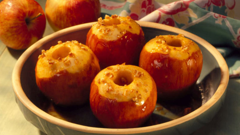 Gluten-Free Baked Maple Apples
