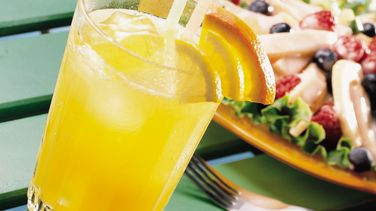 Lemonade and Orange Spritzers