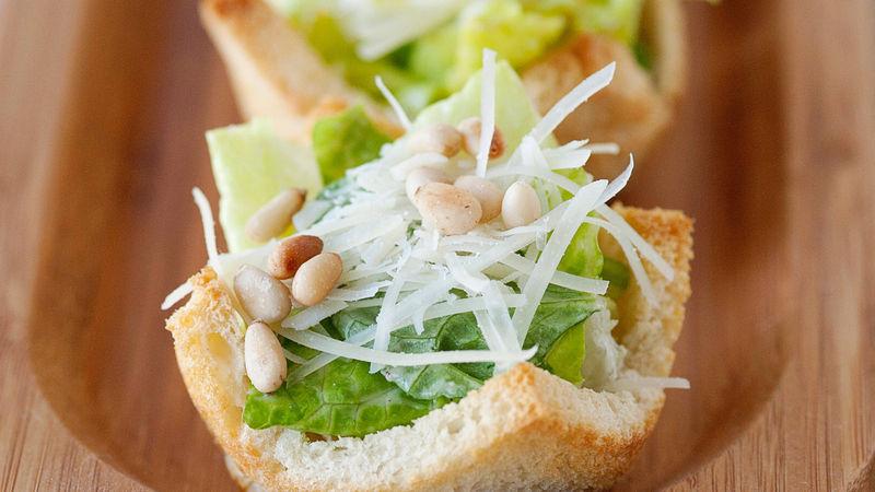 Caesar Salad Cups