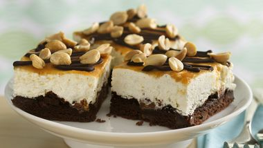 Chocolate-Peanut Butter Dream Bars