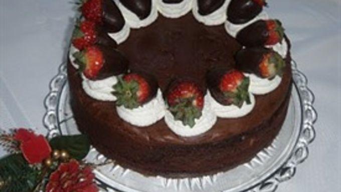 Hershey's® Special Dark Truffle Brownie Cheesecake