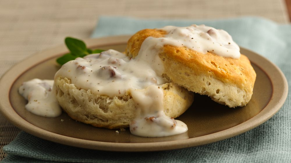 Unbeatable Sausage Gravy and Biscuits
