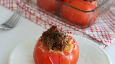 Beef-Stuffed Tomatoes