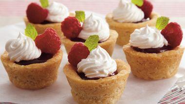 Raspberry Curd Tassies