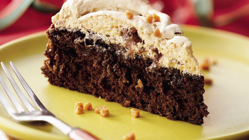 Toffee Meringue Gingerbread