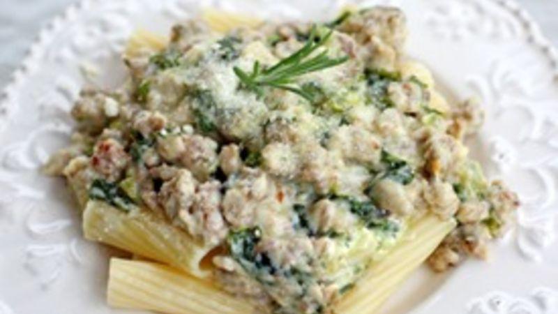 Sausage and Escarole Pasta