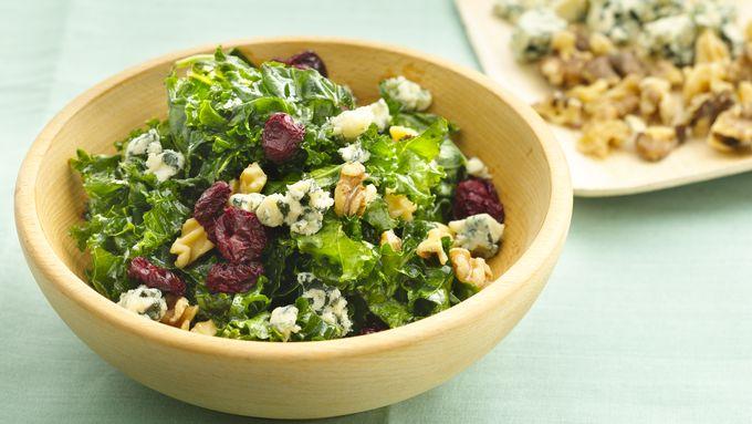 Gluten-Free Massaged Kale Salad
