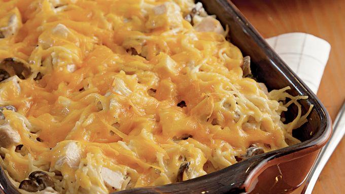 Creamy Chicken Tetrazzini