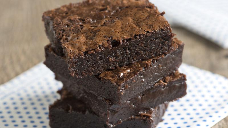 Dark and Stormy Brownies