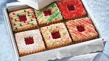 Linzer Sandwich Cookies