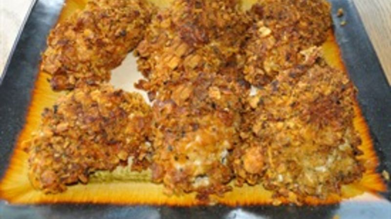 Crunchy Baked Chicken Breasts