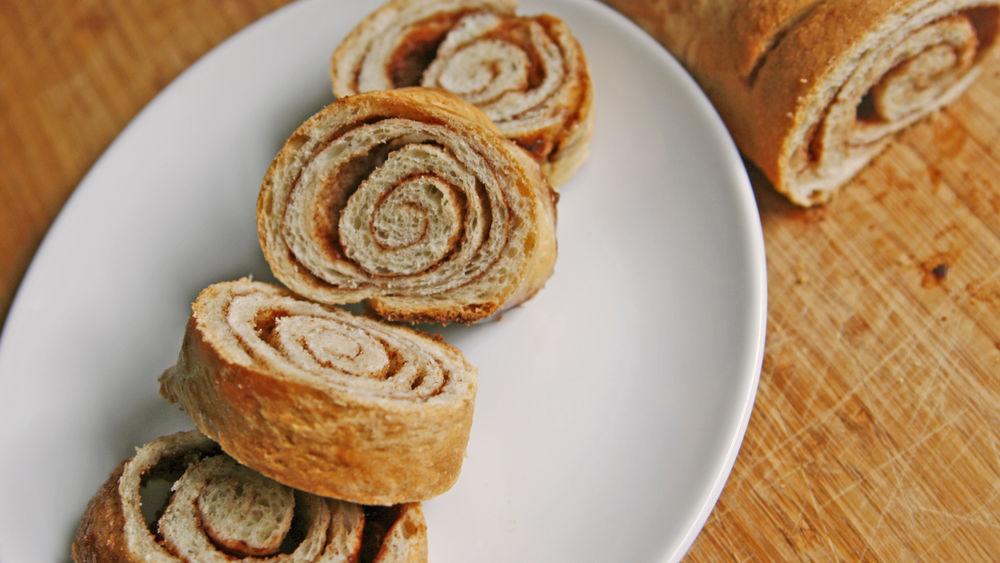 Easy Cinnamon Swirl Bread