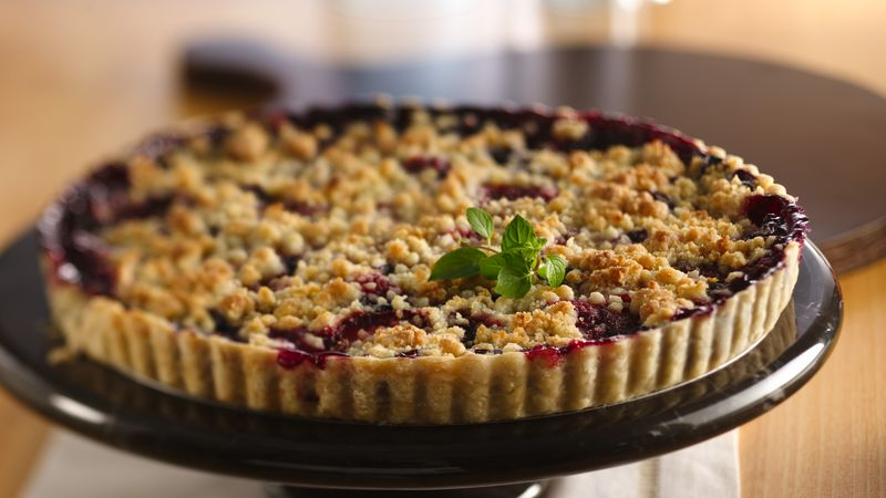 Mixed Berry Crumble Tart