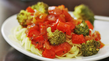 Roasted Vegetable Sauce for Pasta
