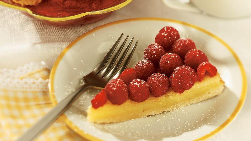 Lemon-Raspberry Tart