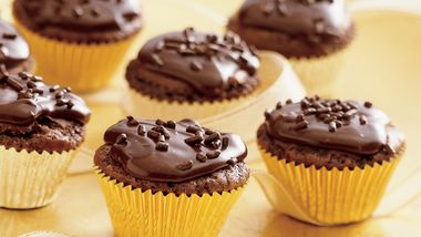 Chocolate Truffle Brownie Cups