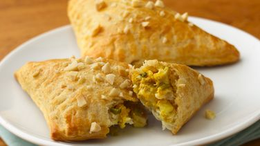 Curry Chicken Triangles