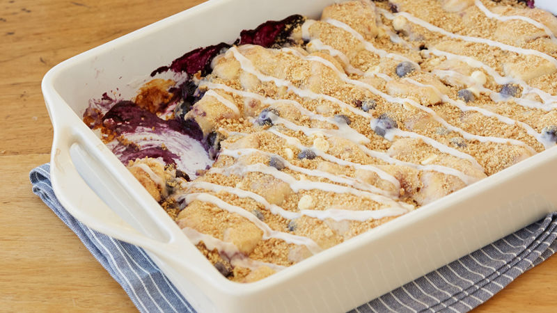 Lemon-Blueberry Bubble-Up Bake