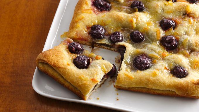 Dark Cherry-Chocolate Breakfast Pastry