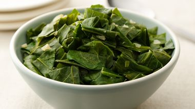 Hot and Spicy Greens