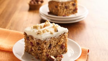 Butternut Squash Cake with Butter-Rum Frosting
