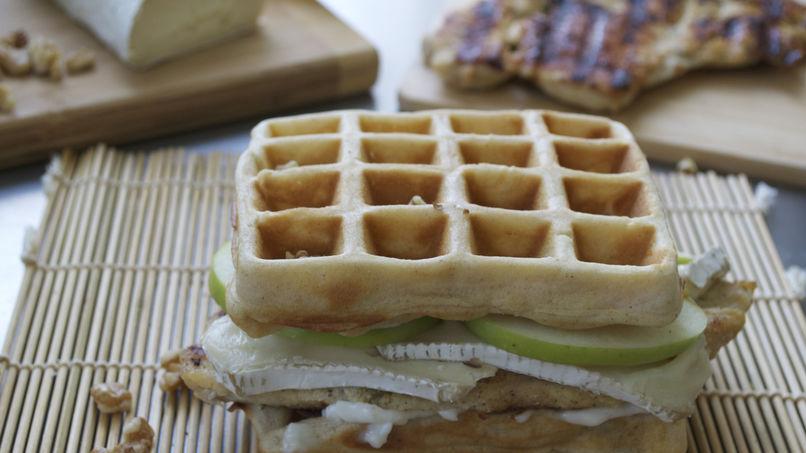 Gourmet Waffle Sandwich