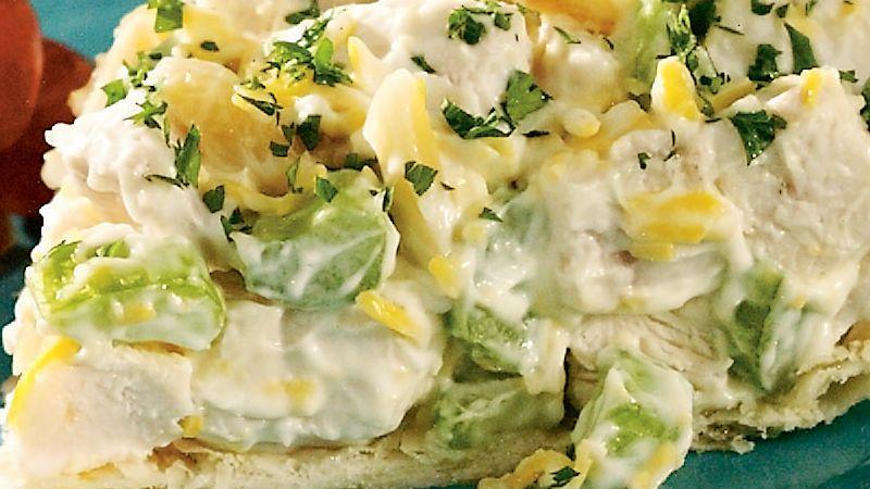 Easy Chicken Salad Pie