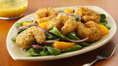 Crispy Seafood Salad with Citrus Vinaigrette