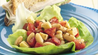 White Bean, Herb and Tomato Salad