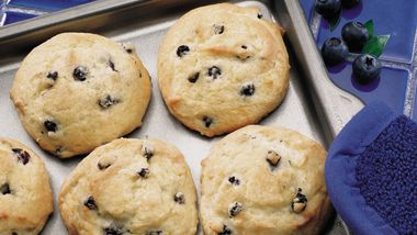 Wild Blueberry Muffin Tops