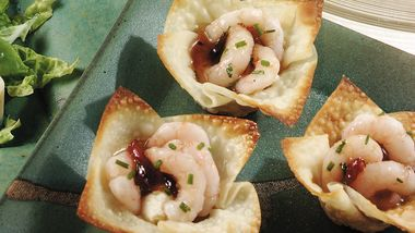 Crispy Shrimp Wontons