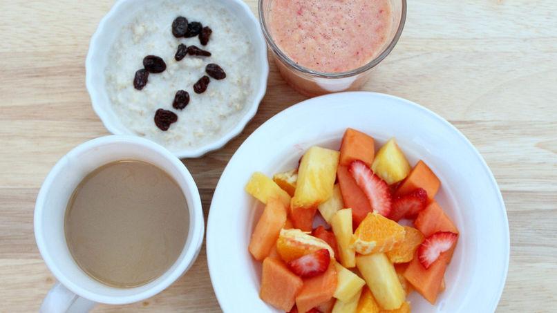 Crema de Avena y Frutas