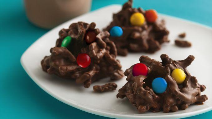 No-Bake Chocolate Cereal Drops