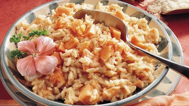 Coconut-Papaya Rice
