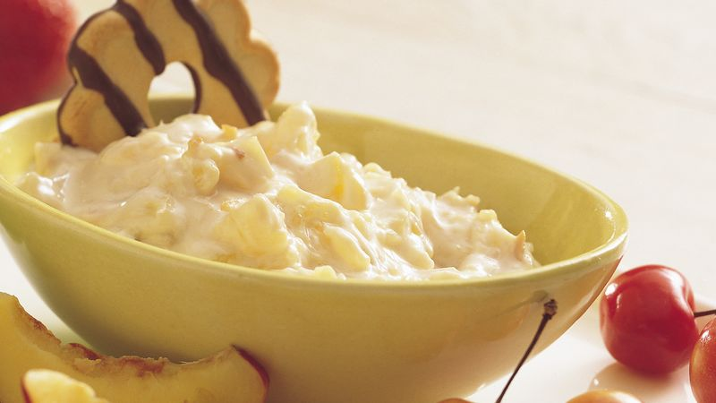 Tropical Fruit Dip for Cookies and Fruit