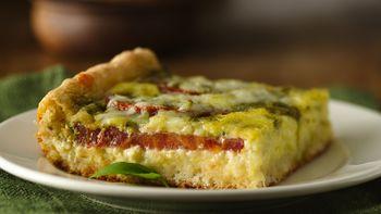 Tomato-Pesto Brunch Bake