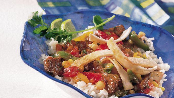 Beef Fajita Bowls