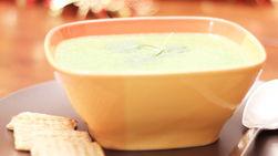Sopa de Espinaca con Yogurt