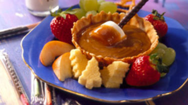 Christmas Vacation Peanut Butter Fondue