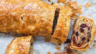 Puff Pastry Ham Rolls