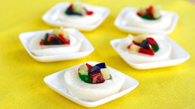 Fruity Vanilla Jello Shots