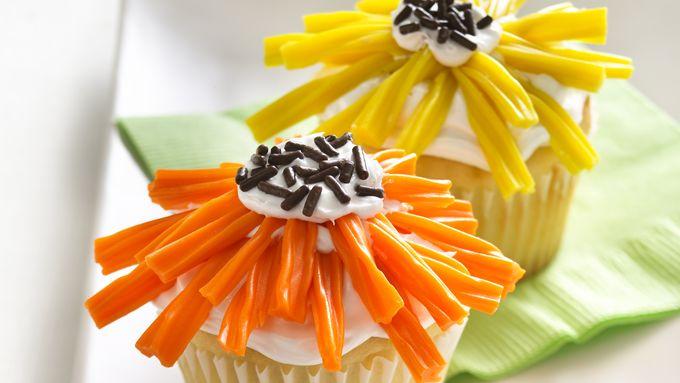Flower-Power Cupcakes