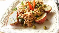 Tuna with Roasted Potatoes