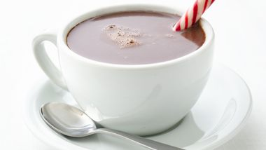Skinny Decadent Hot Chocolate