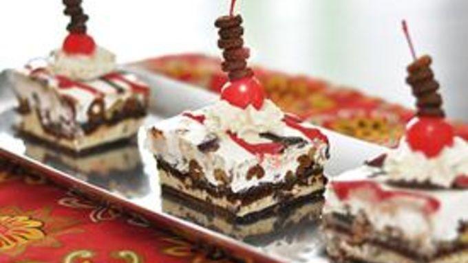 Chocolate Crunch Ice Cream Dessert
